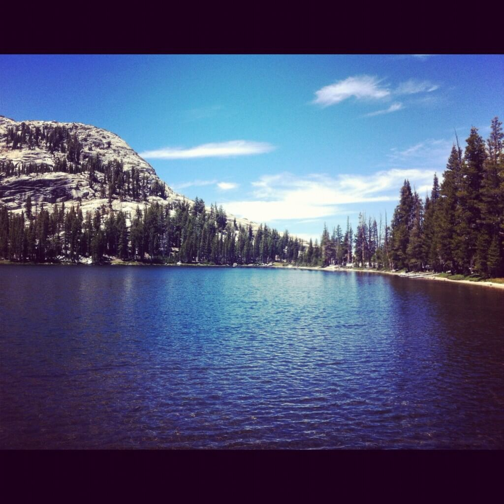 Cathedral Lake in Yosemite