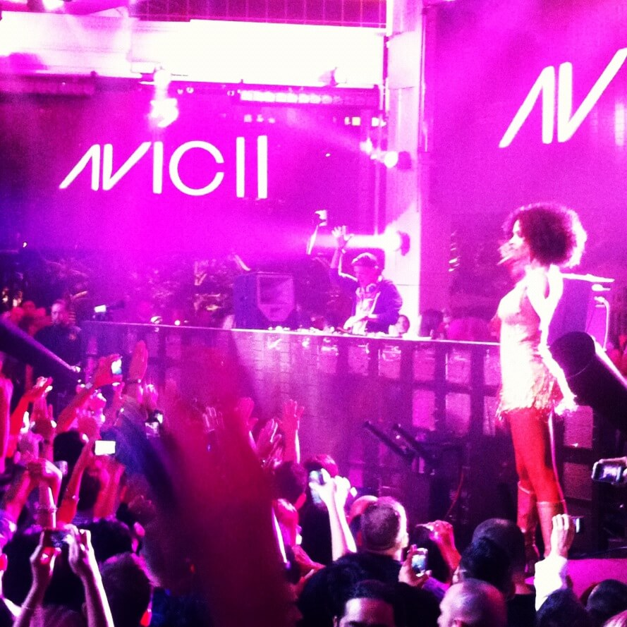Avicii at XS in Las Vegas