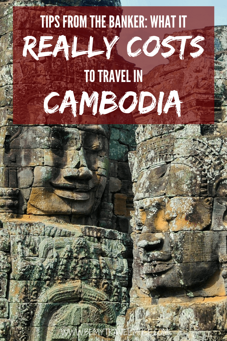 Here's what it really costs to travel in Cambodia! From Accommodation, transportation, food to other expenses, this article will give you an honest breakdown of the traveling costs in Cambodia and help you travel on $30/day! #Cambodia #CambodiaTravelTips