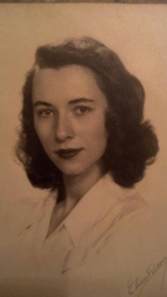 Granny when she was my age
