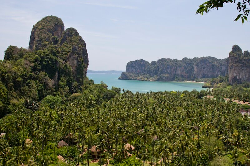 Railay lookout point