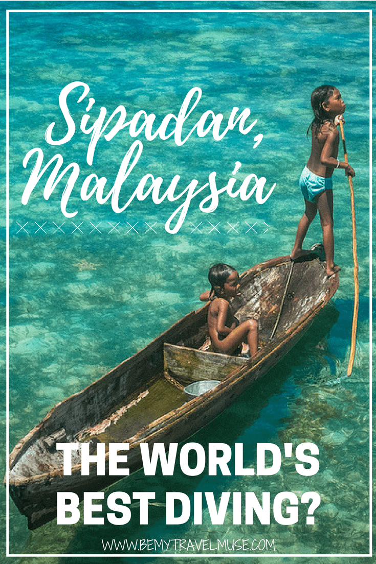 Is Sipadan in Malaysia the world's best diving site? I can certainly agreed. After completing more than 120 dives, Sipadan remains #1 for me | Be My Travel Muse | Malaysia diving sites | Best diving in the world | Diving bucket list