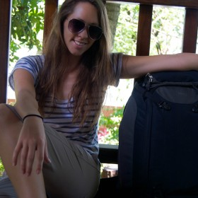 Kristin Addis backpacker