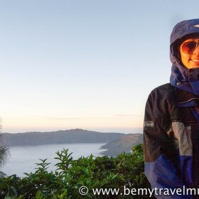 Kristin Addis at Mt. Bromo