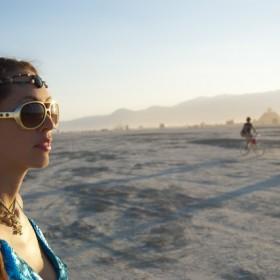Kristin Addis at burning man