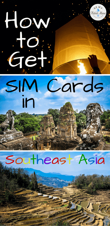 Are you traveling with an unlocked phone and wondering how to Get SIM Cards in Southeast Asia? This guide explains each country and how to find and use them Read more at  https://www.bemytravelmuse.com/get-sim-cards-southeast-asia/