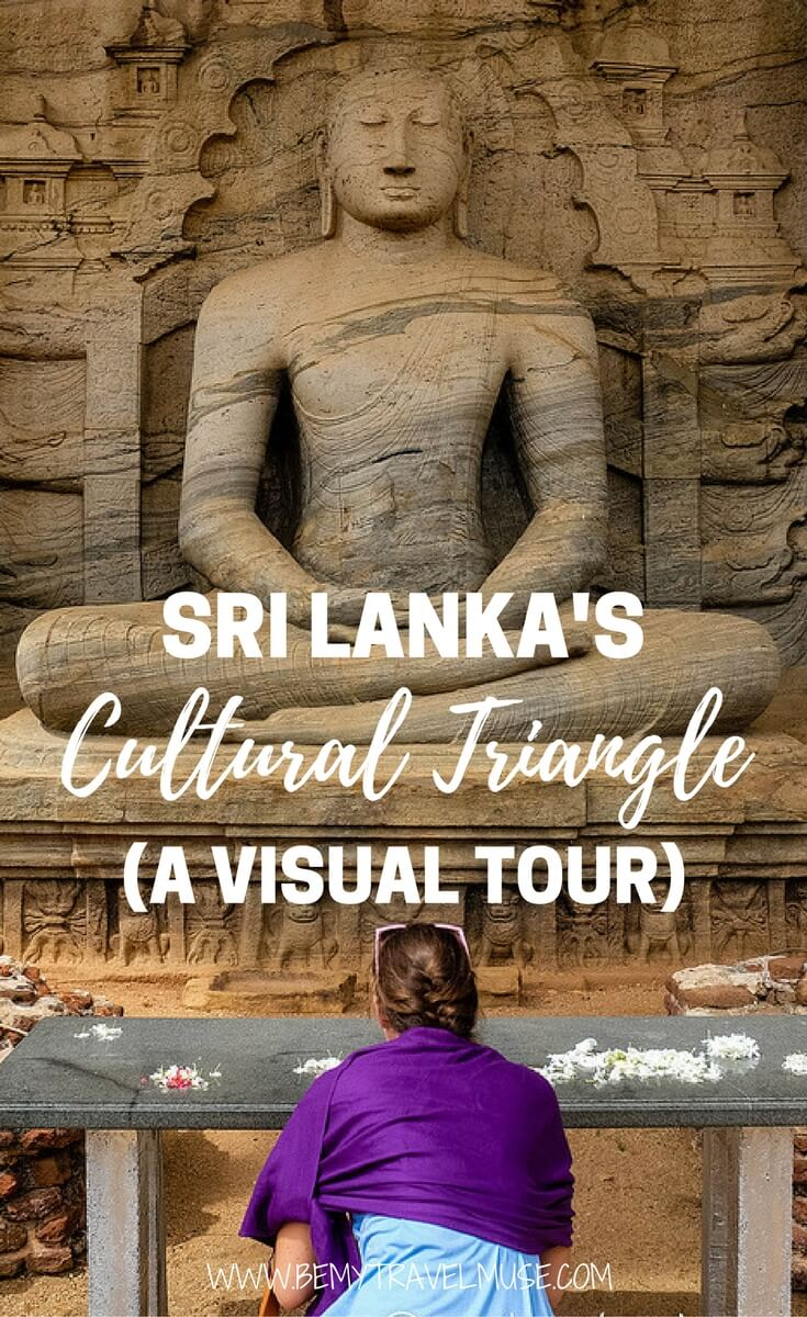 Sri Lanka is full of UNESCO World Heritage sites, and here is a visual tour to some of the massive shrines, carvings, and temples | Be My Travel Muse | backpacking Sri Lanka #srilanka