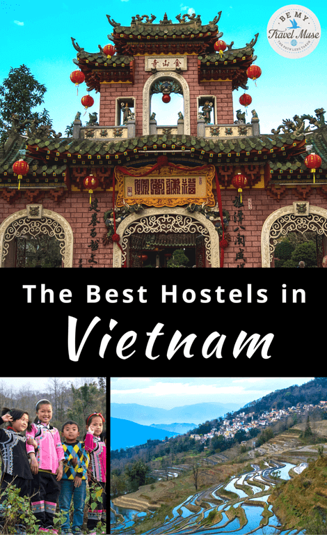 The best hostels in Vietnam, from a girl who has spent the better part of 2 years exploring Southeast Asia, spending one full month in Vietnam. Read more at https://www.bemytravelmuse.com/best-hostels-in-vietnam/