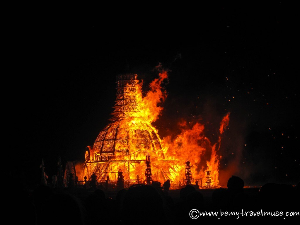 temple of grace burning