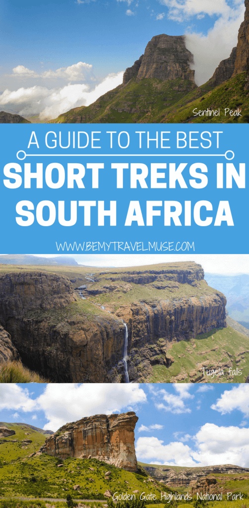 Here are some of the best short treks in South Africa, perfect for travelers short on time. These hikes in South Africa are nothing short of amazing, and should be added on to your South African hiking bucket list | Be My Travel Muse #SouthAfrica #ShortHikes #HikingTips #TrekkingTips
