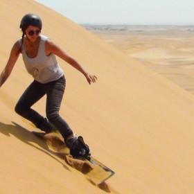 sandboarding in swakopmund