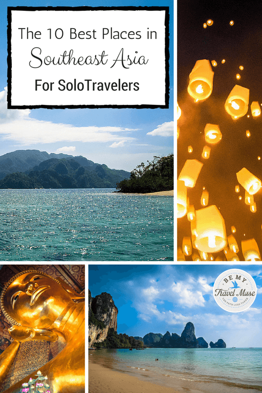 Thinking of traveling solo in Southeast Asia but fear being alone? Fret not! These are the 10 best places in Southeast Asia for solo travelers. Read more at https://www.bemytravelmuse.com/the-10-best-plac…r-solo-travelers/