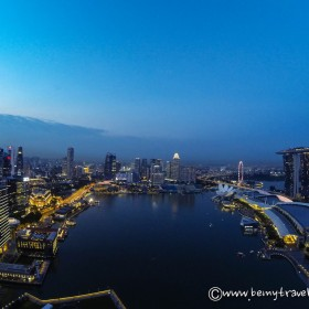 singapore from level 33
