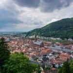 view from schloss Heidelberg