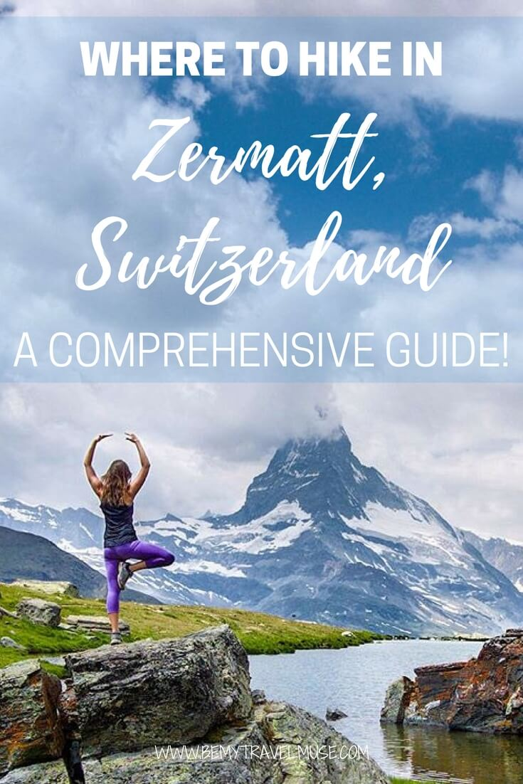No one told me that Switzerland is so beautiful! Here's a quick and easy guide to hiking Zermatt, filled with breathtaking views and gorgeous landscape | Switzerland hiking tips | Zermatt Switzerland | Be My Travel Muse