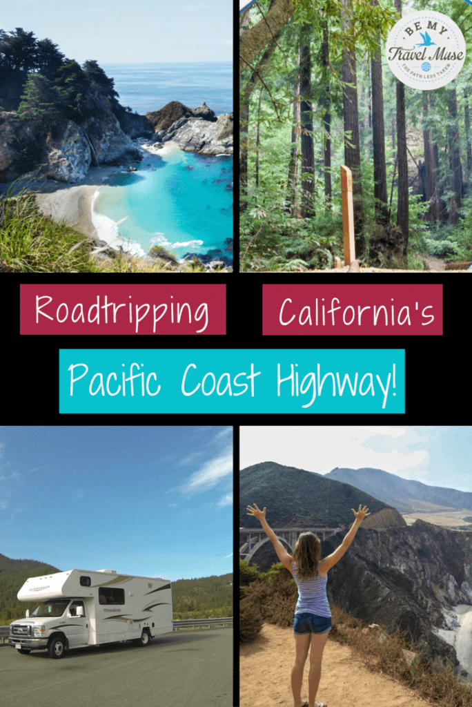 Looking for tips for your Pacific Coast Highway road trip itinerary? I'm a native Californian who has hiked and camped around the world. Here are my faves. Read more at https://www.bemytravelmuse.com/pacific-coast-hi…d-trip-itinerary/