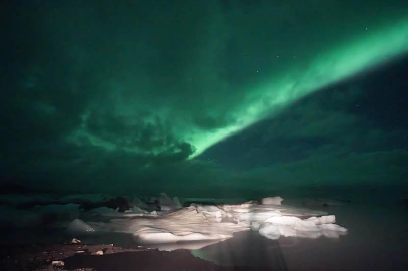 northern lights jokusarlon