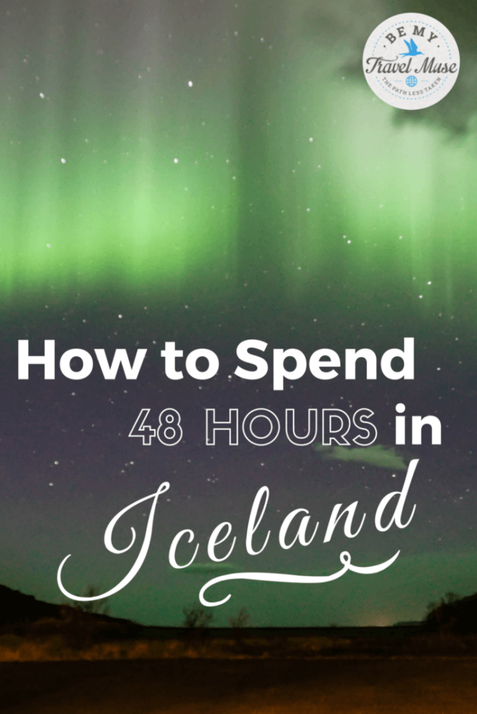 How to self drive Iceland's Golden Circle and more unique suggestions for how to spend 48 hours in magical Iceland. Save money by going independently! Read more at https://www.bemytravelmuse.com/iceland-golden-circle-self-drive/