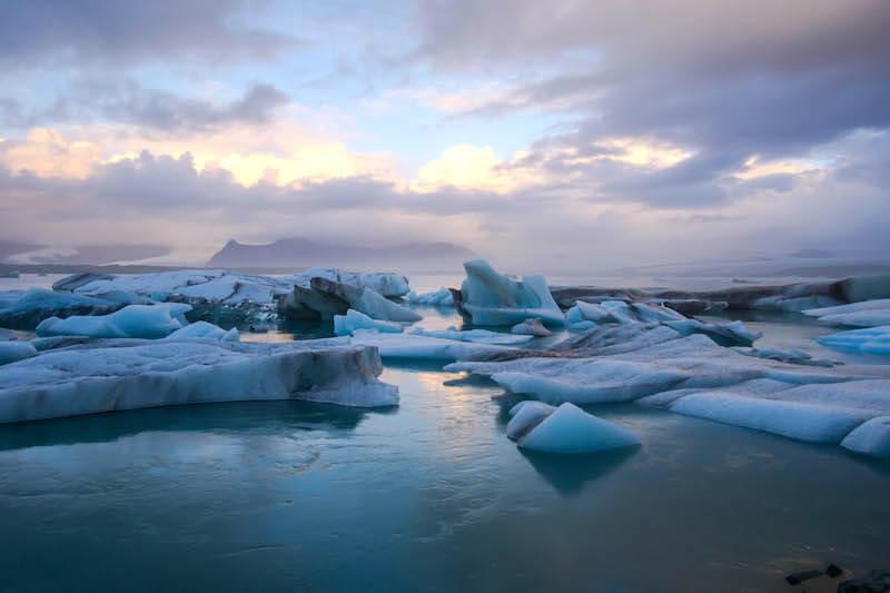 The Jökulsárlón Glacier Lagoon