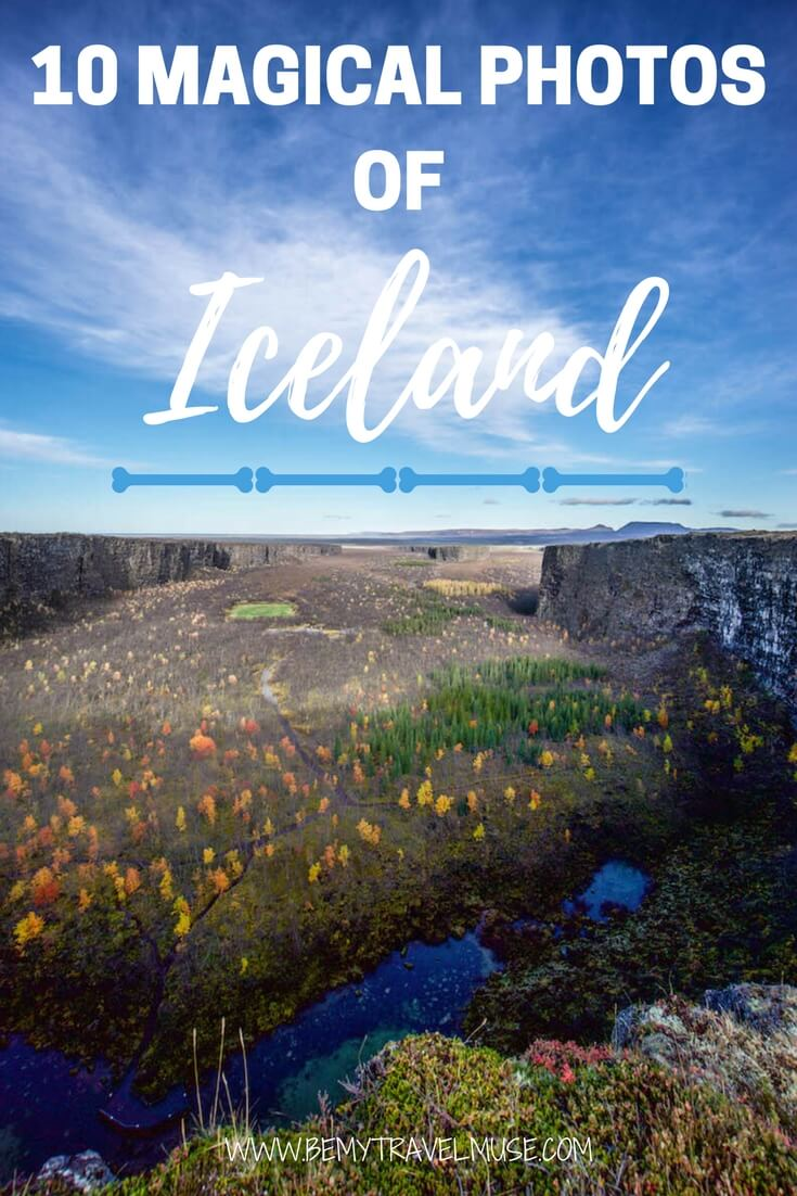 10 magical photos that will make you want to visit Iceland now! See the northern lights, the world's only glacier lagoon, enchanting waterfalls, and of course, the Blue Lagoon | Iceland travel tips | Iceland photography | Be My Travel Muse #Iceland