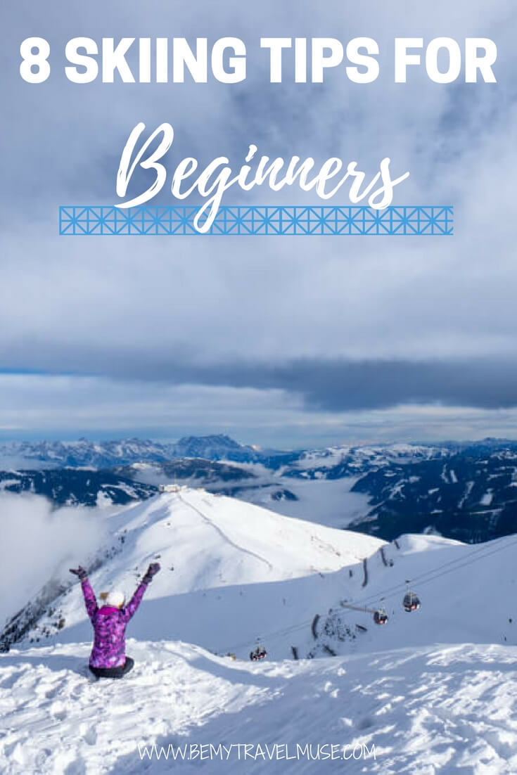 skiing for the first time this winter? Here's a newbie guide to skiing for beginners- how to choose the right ski resort, how to pack appropriately, and how to enjoy it | skiing tips | Be My Travel Muse #ski
