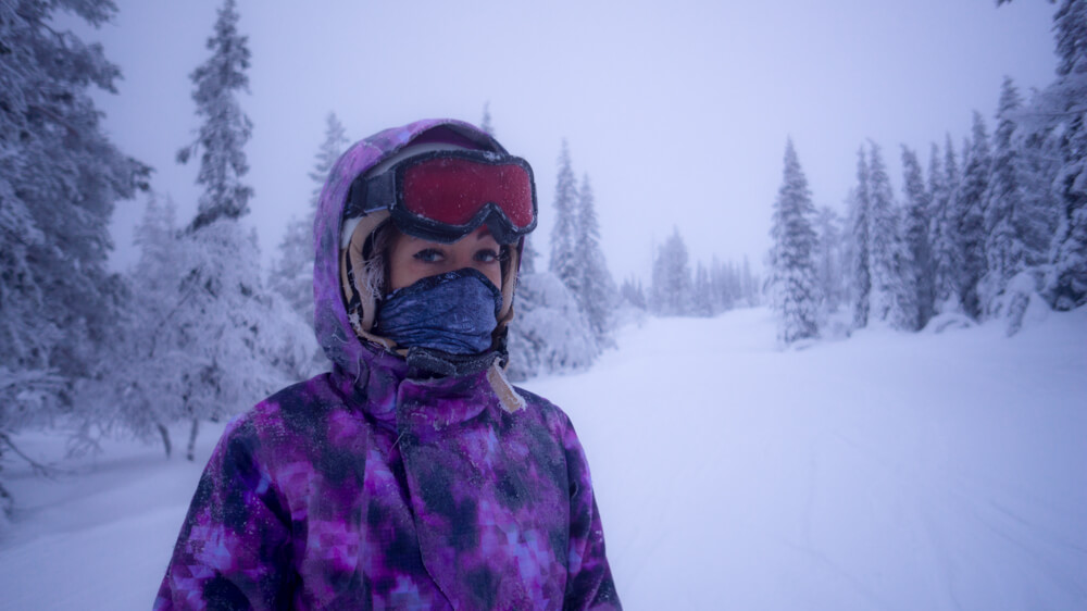 skiing in yllas