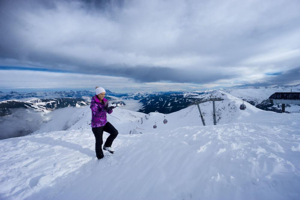 saalbach austria ski review