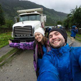 chile hitchhiking