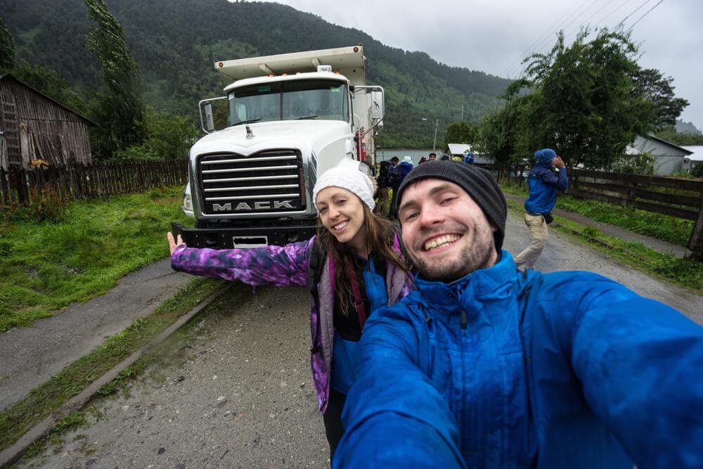 south america hitchhiking