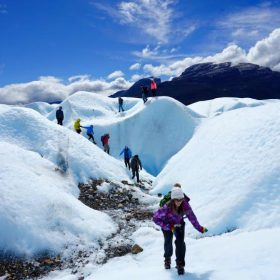 Ice Waves: Trekking on Glaciers in Patagonia