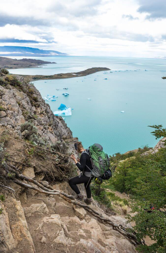 El Chaltén hiking guide Huemul Circuit