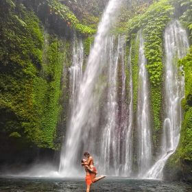 How to Find the Tiu Kelep Waterfall In Lombok