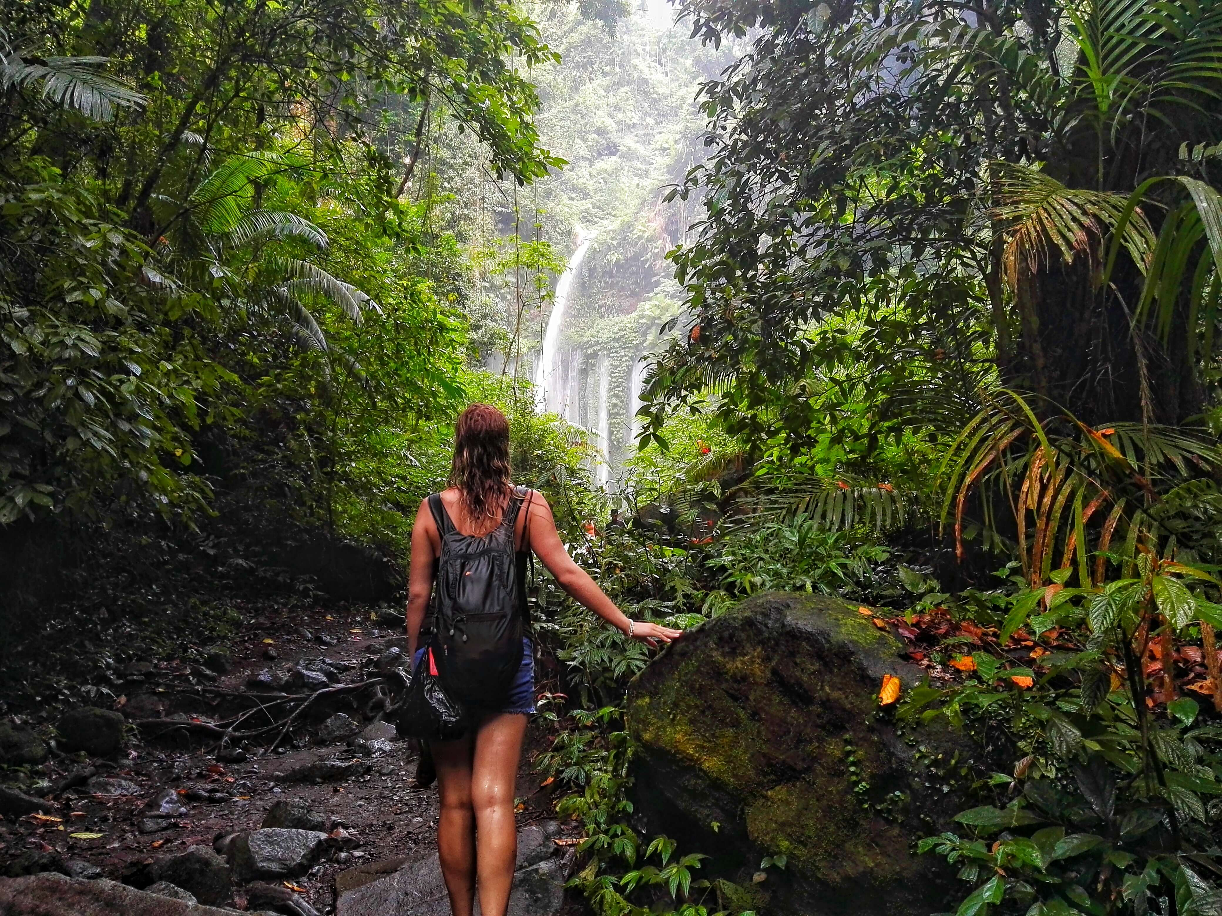 How to Find the Lombok waterfall
