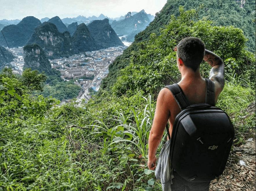 how to hike yangshuo