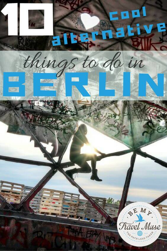 Want to do something a little different when you visit Berlin? If you love hidden gems and street art, check out these 10 alternative things to do in Berlin Read more at https://www.bemytravelmuse.com/alternative-things-to-do-berlin/