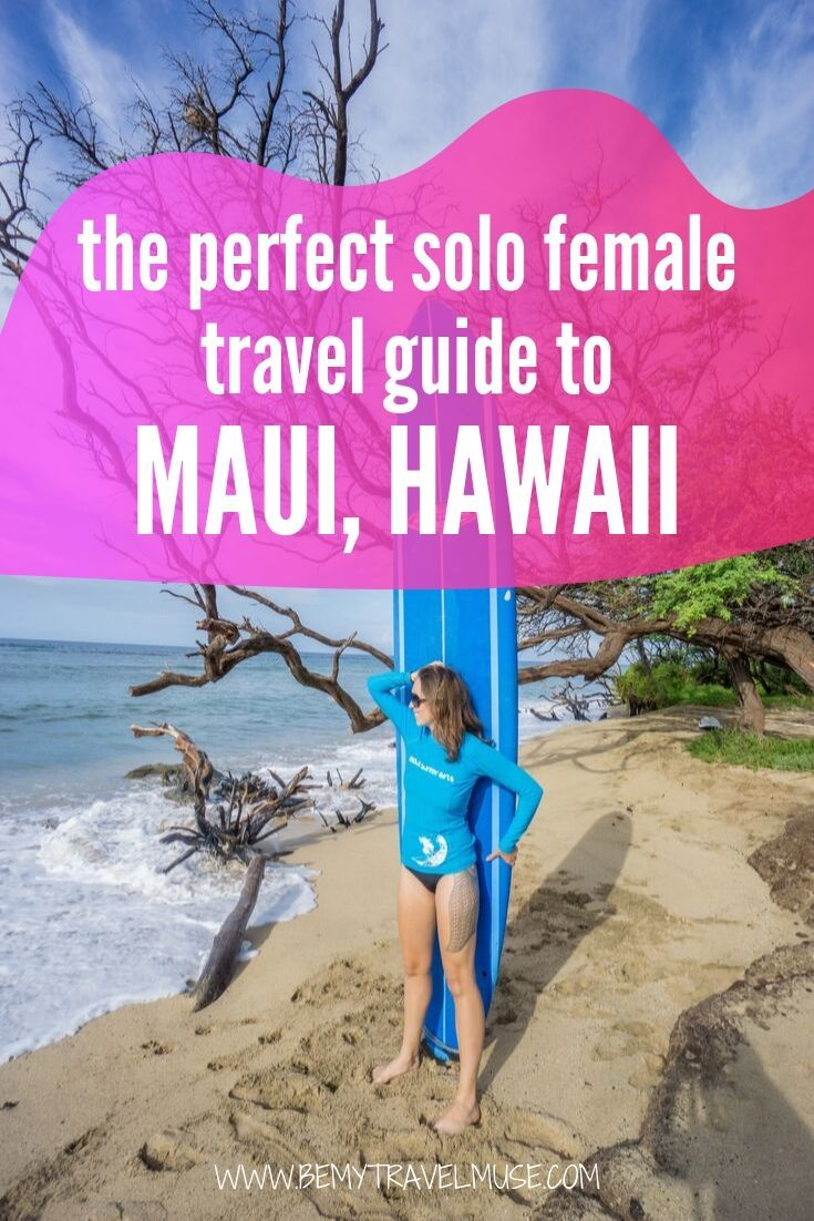 Think Maui, Hawaii is only for couples and honeymoons? Think again! As a solo female traveler, I enjoyed traveling alone in Maui and here are some practical tips and guides on planning the best solo trip to Maui, including the best things to do and where to eat & stay! #Maui #Hawaii #Solofemaletravel
