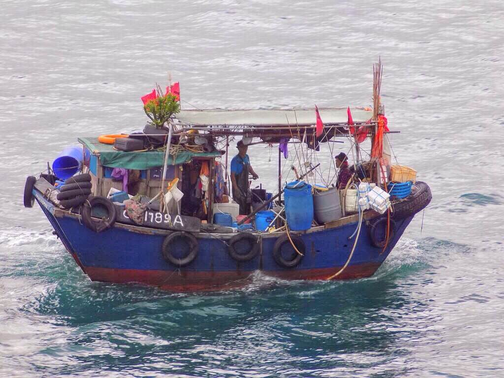 fishing boat Tao O