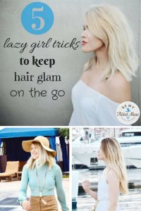 Looking for some easy travel hairstyles that require minimal time, products, and tools? These five tips will have you looking flawless in no time!