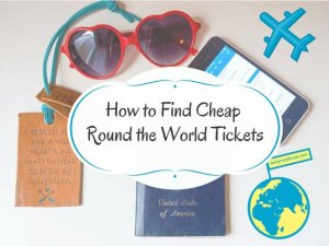 How to find cheap RTW flights, using several different tools and methods, along with exactly how I flew around the world for only $600!