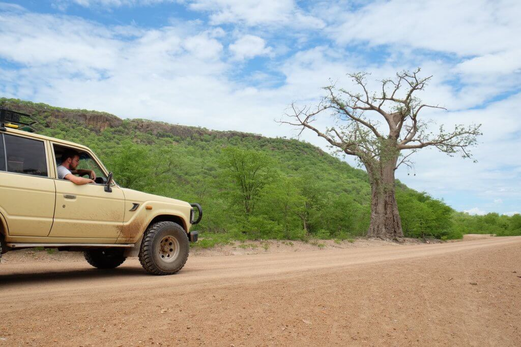 Driving in Zimbabwe
