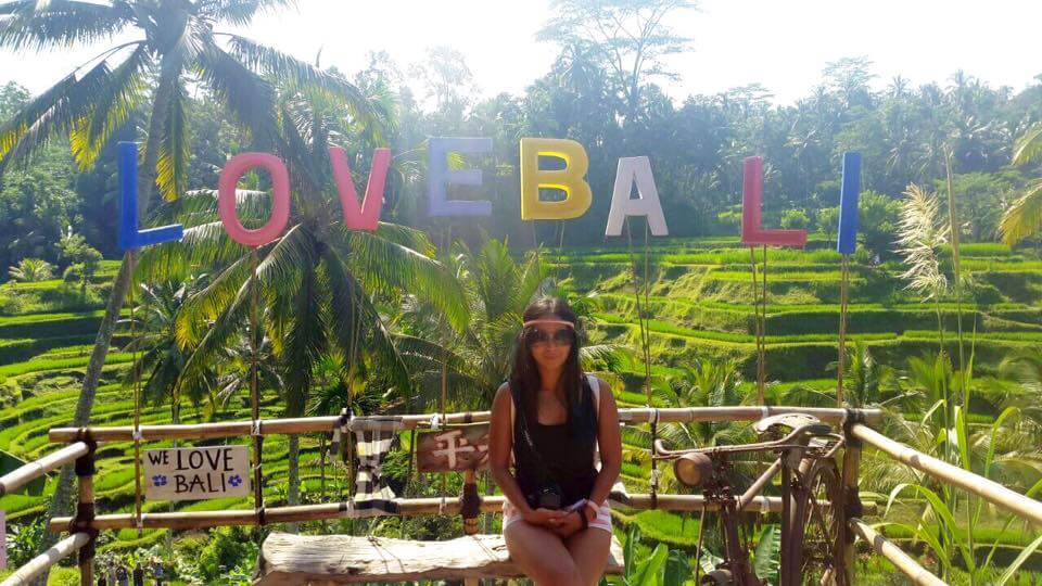Indonesian solo female traveler