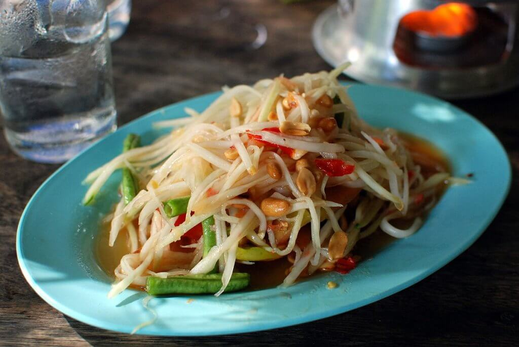 Som Tam Thai Top Ten Meals in Southeast Asia