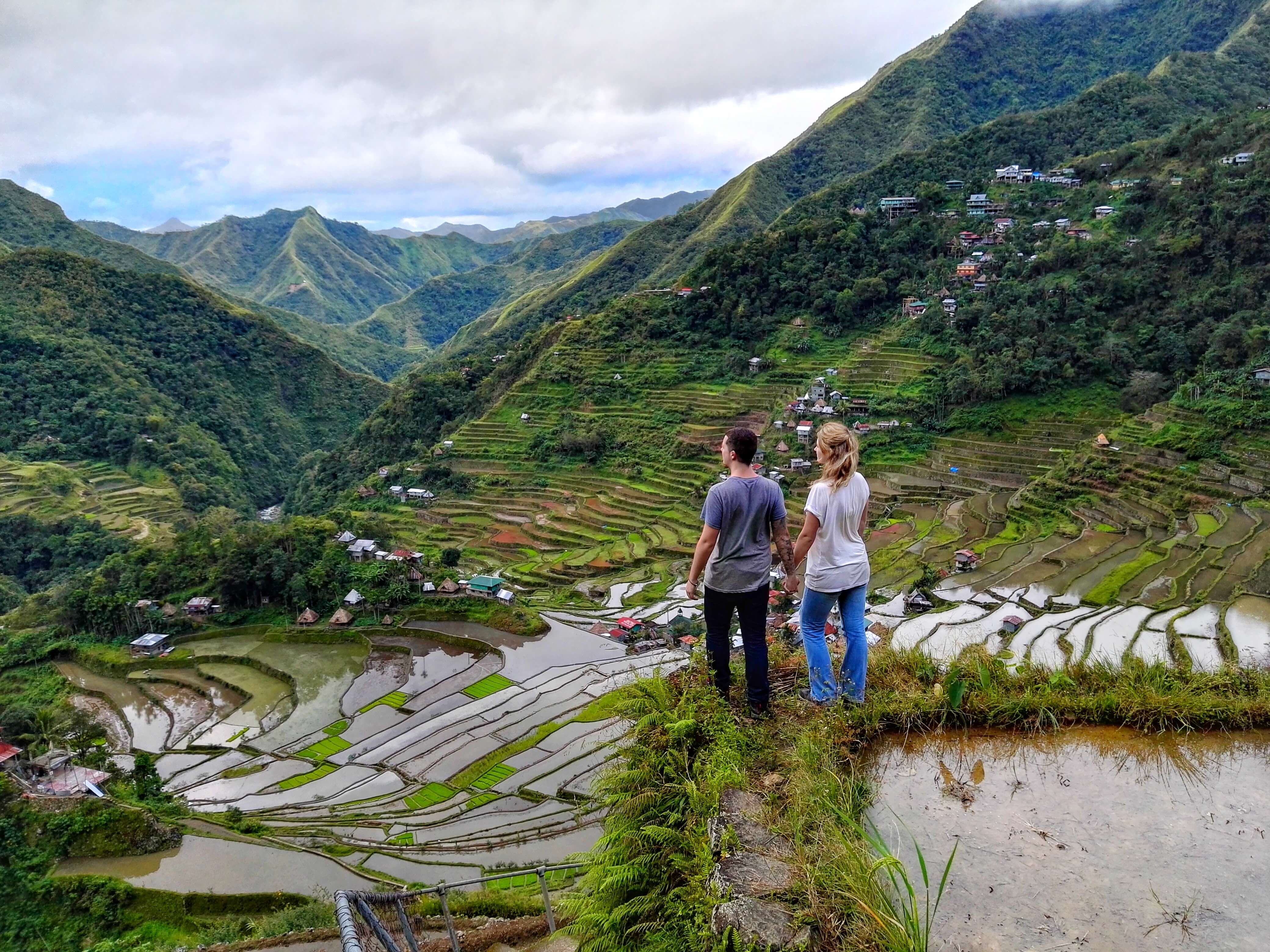 Batad rice terraces the philippines