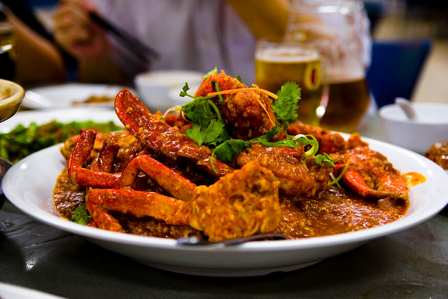 Chili Crab Top Ten Meals Southeast Asia