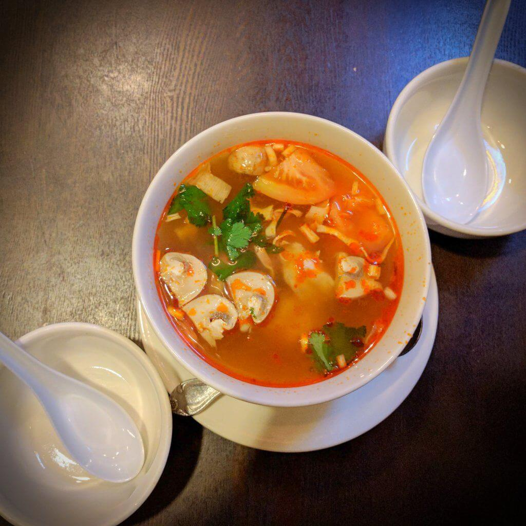 Tom Yum Goong Thai Food Guide