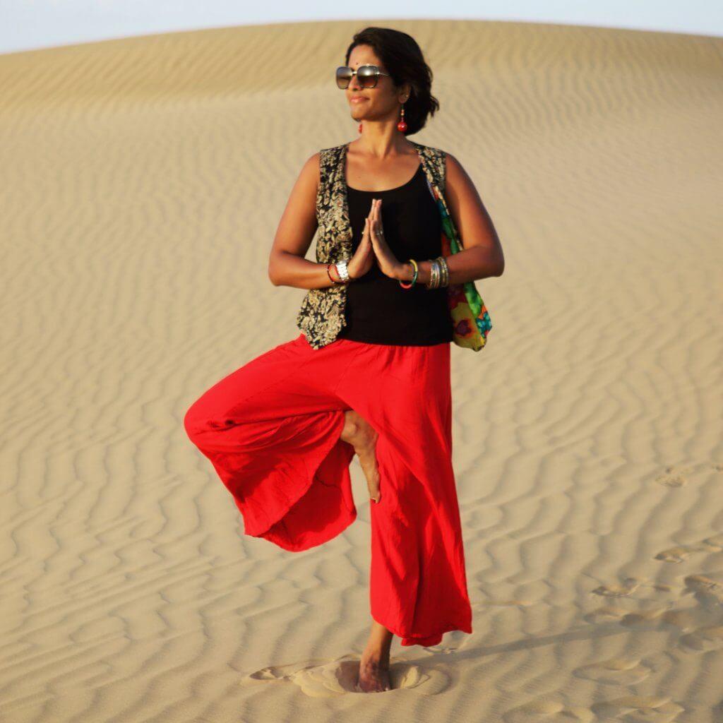 indian solo female traveler