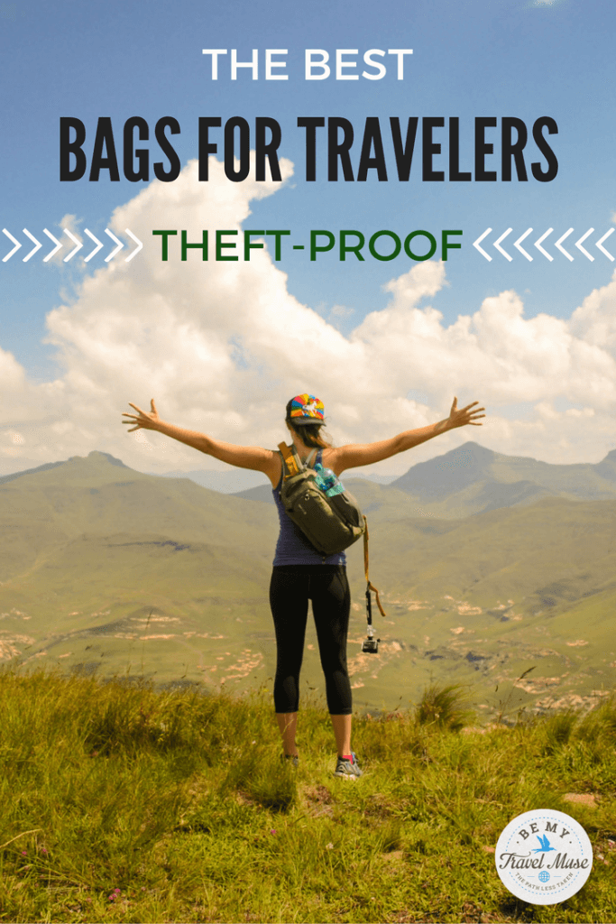 After traveling to over 50 countries, these are my favorite theft-proof bags for keeping your belongings safe, your identity secure, and your trip easier!
