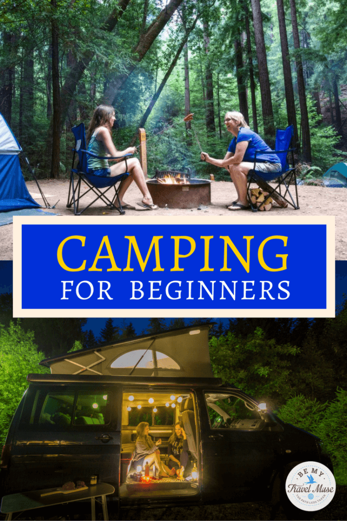 Camping for the first time and unsure what to bring? These hacks for beginners will help make your trip easier and more fun, whether in a van, car, or tent! | Camping for Beginners | Camping Tips