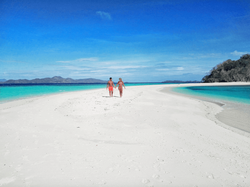 sandbar philippines island