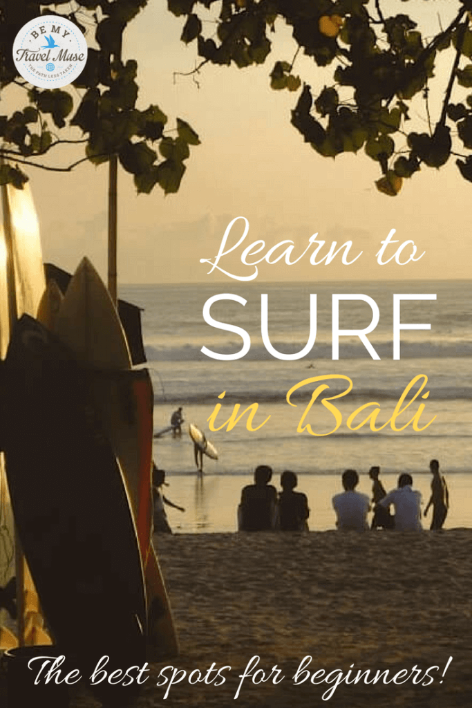 Detailed information on where to learn to surf in Bali, plus where to eat and stay, how to find instructors, and practical info about the waves.